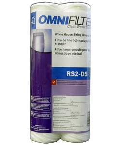 OmniFilter RS2-DS Whole House String Wound Filter - 2 Pack