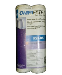 OmniFilter RS3-DS Whole House String Wound Filter