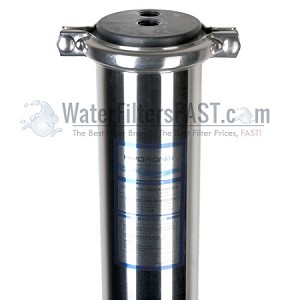 Hydronix SPV-4080SP 4x40 inch 300 PSI 3/4 inch Feed Port S.S. Membrane Vessel