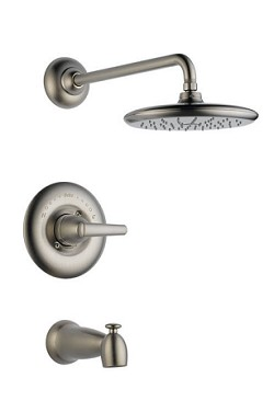 Delta  T14482-SS Rizu  Monitor 14 Series Tub and Shower Trim  Stainless Finish