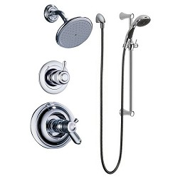 Delta T17T230 Innovations TempAssure 17T Series Shower Trim Chrome Finish