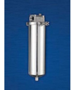 Hydronix T2-304-34 150 PSI 3/4 inch NPT 304SS Single Element Filter Housing (T2)