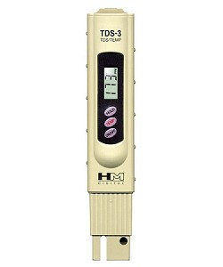HM Digital TDS-3 Handheld Digital TDS Meter and Thermometer