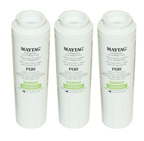 4396395, WF50, UKF8001AXX, 12589208 Whirlpool Water Filter - 3 Pack