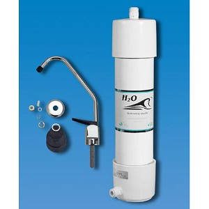H2O International US4 Deluxe 5 Stage Under Sink Filter with Faucet