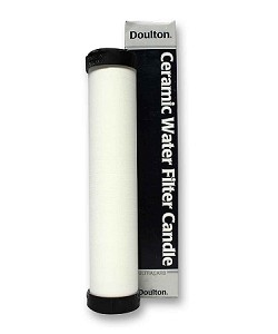 Doulton Sterasyl Micro Filter + Carbon Block + Heavy Metal Removal Media 10x2 15mm Short Threaded Mount Ultracarb