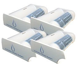 WF2CB Frigidaire PureSource2 Refrigerator Water Filter - 4 Pack