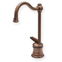Forever Hot 6 5-8-Inch Instant Hot Water Dispenser with Traditional Spout In Oil Rubbed Bronze By Whitehaus