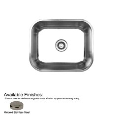 Noah's Collection 21 1-4-Inch Single Bowl Undermount Sink By Whitehaus