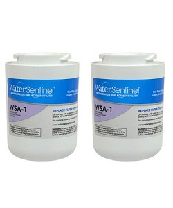 Water Sentinel WSA-1  Refrigerator Filter | Amana WF401S | 2 Pack