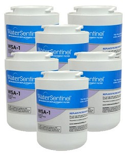 Water Sentinel WSA-1  Refrigerator Filter | Amana WF401S | 6 Pack