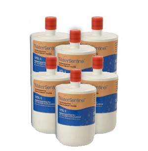 Water Sentinel WSL-1 Refrigerator Filter | LG LT500P Compatible | 6 Pack