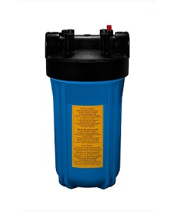 YTB-10-BL34-PR Heavy Duty Blue Filter Housing for for Full Flow/BB 10 inch x 4 1/2 inch Cartridge with 3/4 inch Port