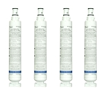 Whirlpool 4396701 Refrigerator Water Filter | 4 Pack