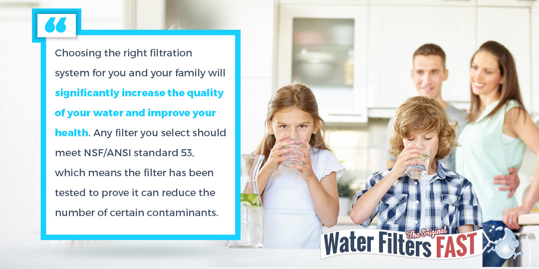 Choose the right filtration system