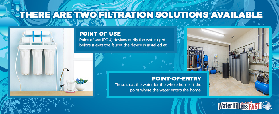 There are two filtration solutions available