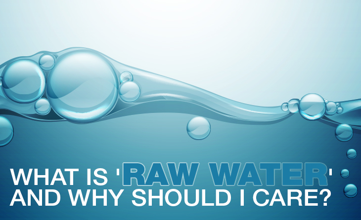 What is 'Raw Water' and Why Should I Care?