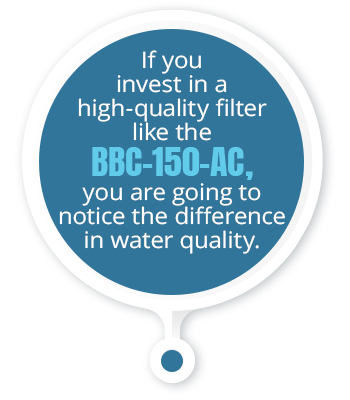 bbc water filter quote