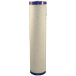 Pentek Big Blue EPM-20BB 20 inch × 4 1/2 inch High Dirt Holding Capacity Carbon Block Cartridge