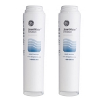GE GSWF SmartWater Slim Refrigerator Interior Water Filter - 2 Pack