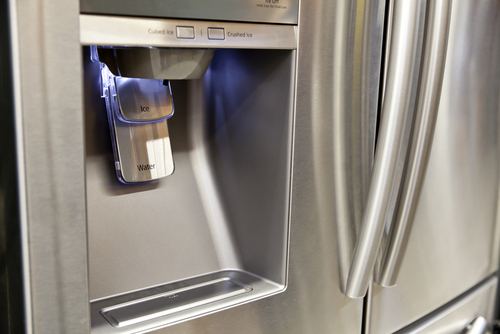 refrigerator ice water dispenser
