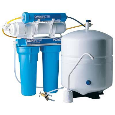 omnifilter ro2000 series b reverse osmosis undersink filter system - Reverse Osmosis Water Filter