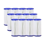 30 Micron Pleated Sediment Filter 4.5 x 10  Replaces FXHSC - 12 Pack