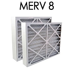Space Gard (FINAL SALE) 20x25x6 Furnace Filter MERV 8 2 Pack
