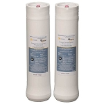 Whirlpool Wheerf 2-Pack Ultraease Systems for Wharos5 and Wher25 Under Sink Replacement Filters with Reverse Osmosis Filtration