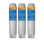 Water Sentinel WSG-2 Refrigerator Water Filter | GE GSWF Compatible | 3 Pack
