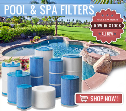 Pool and Spa Water Filters