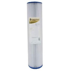 Pentek 155430-43 R30-20BB 30 Micron Pleated Polypropylene Reusable 20 Big Blue Sediment Cartridge