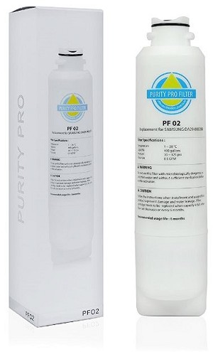 PurityPro PF-02  Refrigerator Filter - Samsung DA29-00020A / B Compatible