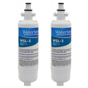 Water Sentinel WSL-3 Refrigerator Filter - LG LT700P Compatible - 2 Pack