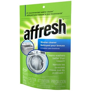 Whirlpool W10135699 Affresh High Efficiency Clothes Washing Machine Cleaner | 3 Tablets