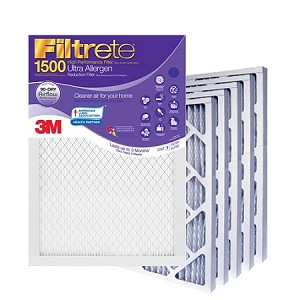 14x36x1 Filtrete Ultra Allergen Air Filter (13.75x35.75x.875 - Actual Size) 6 Pack