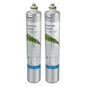 Everpure H-1200 Replacement Water Filter Cartridge EV-928201 - Set of 2
