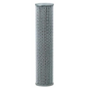 Pentek Big Blue NCP-20BB 20 inch × 4 1/2 inch Pleated Carbon-Impregnated Polyester Cartridge