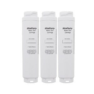 Bosch / Cuno 9000 077104 UltraClarity REPLFLTR10 644845 Refrigerator Water Filter - 3 Pack
