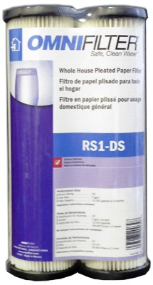 Omnifilter Rs1 Ds Pleated Paper Replacement Cartridge 2