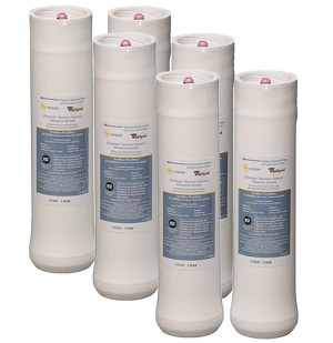 Whirlpool WHEERF Ultraease WHER25 RO Water Filter Set  WHEERF5 | 3 Pack